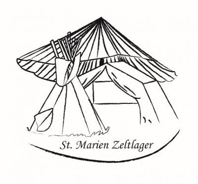 St. Marien Zeltlager Logo